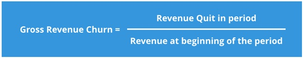 Gross Revenue Churn