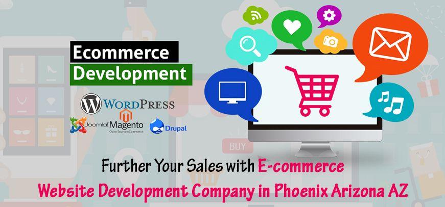 Ecommerce Website Development Company in Phoenix Arizona AZ