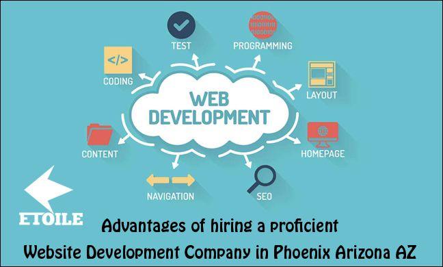 Advantages of hiring a proficient Website Development Company in Phoenix Arizona AZ