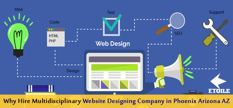 Why Hire Multidisciplinary Website Designing Company in Phoenix Arizona AZ