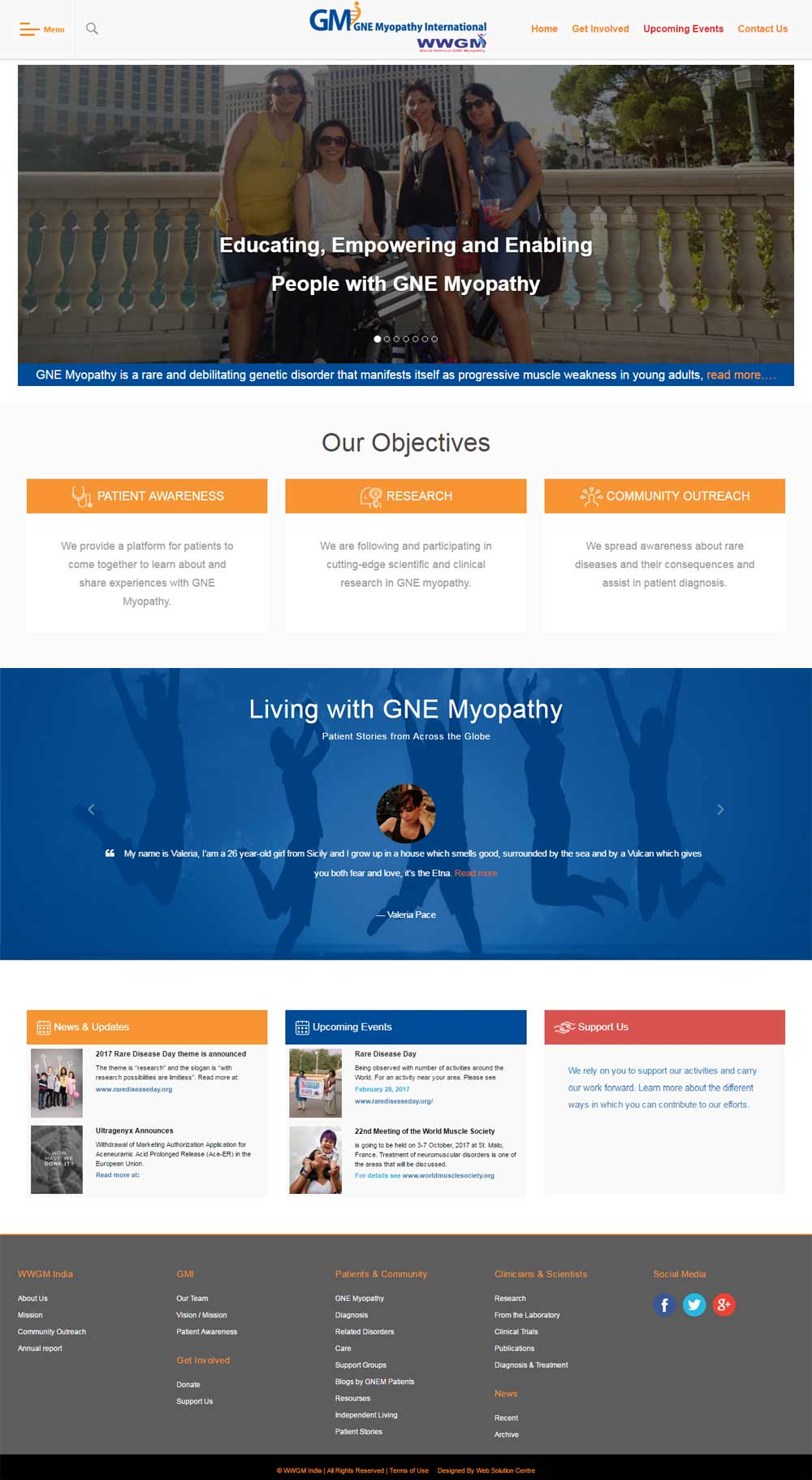 GNE Myopathy International